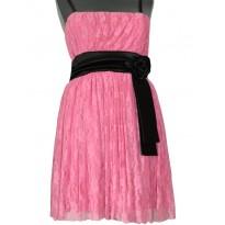Rochie de seara din dantela roz Natalya